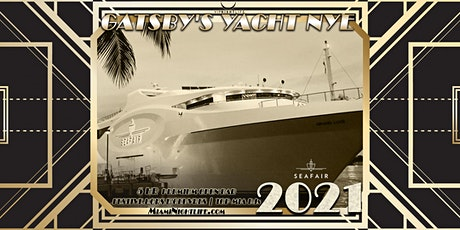 New Year's Eve Miami Fireworks Cruise - Gatsby's Yacht 2021 tickets
