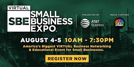 National Virtual Small Business Expo 2020 (August 4-5) biglietti