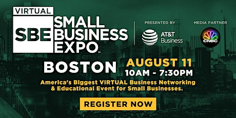 Boston Virtual Small Business Expo 2020 tickets