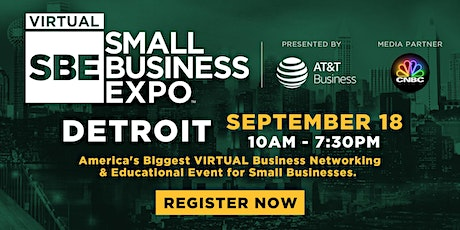 Detroit Virtual Small Business Expo 2020 tickets