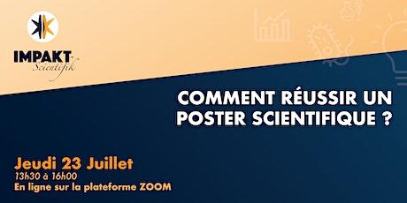 Comment réussir un POSTER scientifique ? billets