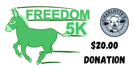 Freedom 5K - Virtual Run/ Walk tickets