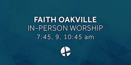 Faith Oakville In-Person Worship tickets