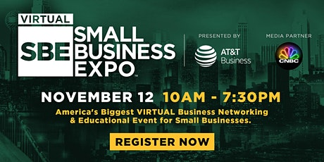 National Virtual Small Business Expo 2020 (November 12) tickets