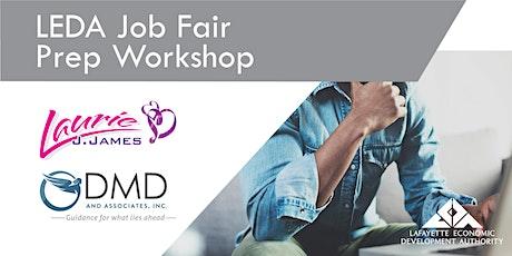 LEDA Job Fair Preparation Workshop tickets