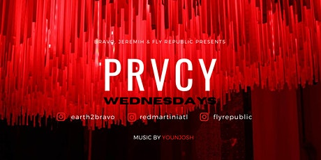PRVCY WEDNESDAYS AT BUCKHEADS NEWEST HOTSPOT... RED MARTINI! tickets