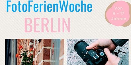 FotoFerienWoche Berlin für Schüler von 9 - 17 Jahren tickets