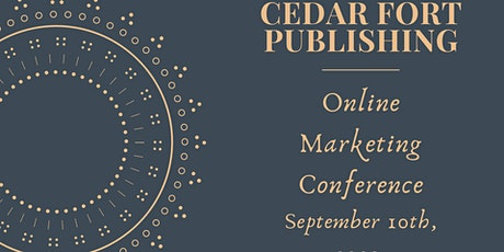 Cedar Fort Publishing Author Marketing Conference September 2020 tickets