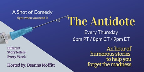 The Antidote - Storytelling Show tickets