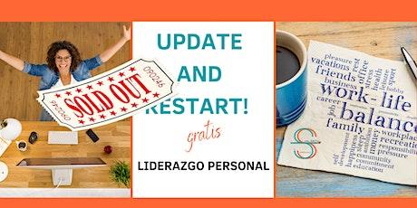 Update and Restart! Redefine tu filosofía de vida y actívate entradas