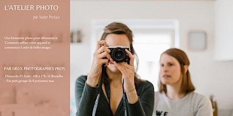 Journées Préface - Atelier Photo du 09 Août - Bruxelles billets