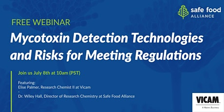 Mycotoxin Detection Technologies and Risks for Meeting Regulations tickets