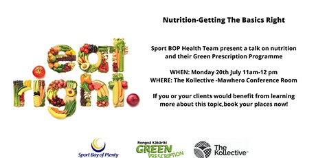 Nutrition-Getting The Basics Right tickets