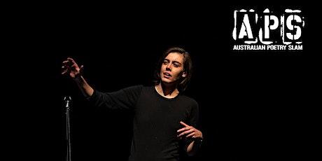 Australian Poetry Slam HEAT | Live Online tickets