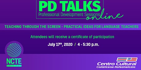 PD TALK ONLINE 2: Teaching Through the Screen. Practical Ideas for Language tickets