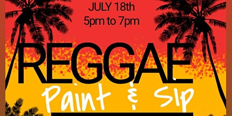 MD's Hottest Reggae/Soca , Paint, & Sip tickets