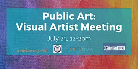 Public Art: Visual Artist Meeting tickets