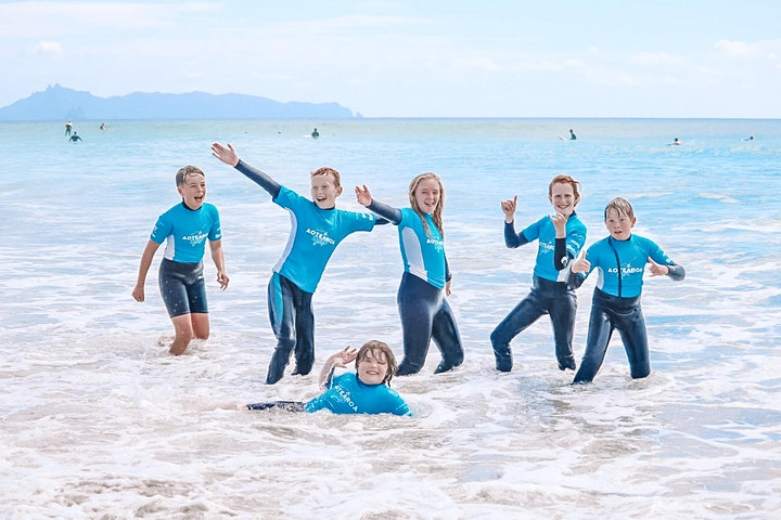 Outdoor Adventure Club (Ages 5-16) Surf Camp image
