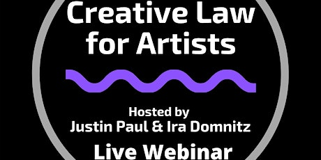 Creative Law for Artists Webinar Series tickets
