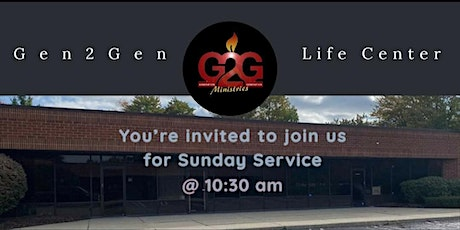 Gen2Gen Ministries Sunday Service tickets