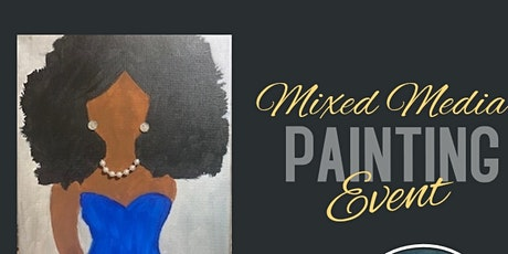 Ladies Day  Out Mixed Media Paint Party tickets