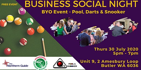 Free Business Social Networking Night tickets