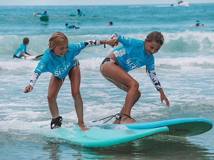 Kids Summer Surf Program (ages 6-15) at Te Arai image