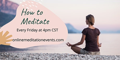 How to Meditate tickets