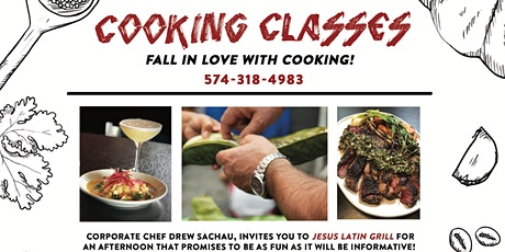 Cooking Class- Grilling (part of class will be held outside) tickets