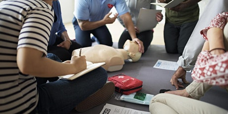 CPR/FIRST AID/AED: Re-Cert ONLY Via Zoom tickets