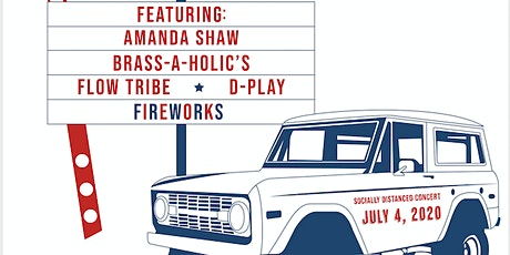 Festing on the 4th! 6 continuous hours of live music + fireworks show tickets