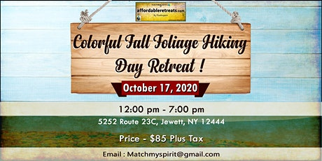 Colorful Fall Hiking in the Catskills Day Retreat tickets