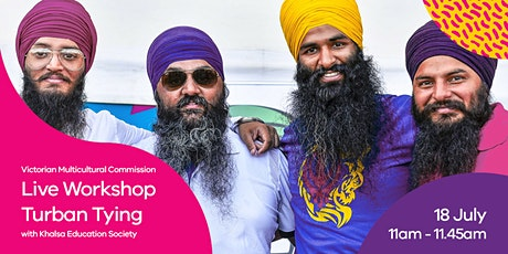 Turban Tying Workshop tickets