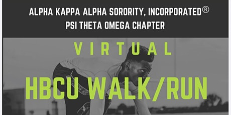 Virtual HBCU Walk/Run tickets