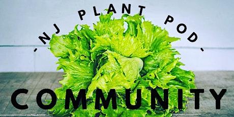 NJ Plant Pod Community Meeting tickets