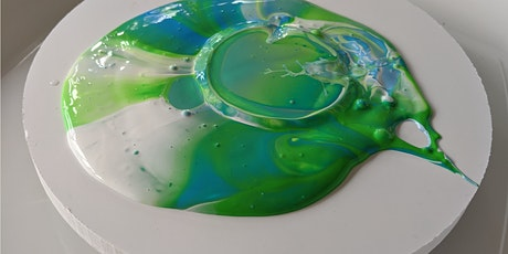 Acrylic Paint Pouring - 9th July Evening tickets