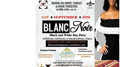 Blanc Noir Day Party tickets