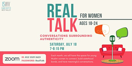 ISWV: Real Talk for Women - Conversations Surrounding Authenticity tickets