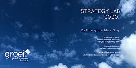 Strategy Lab tickets