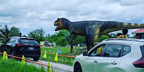 Dinosaur Drive-Thru:  Sunday July 12th  - COVID 19 Safe tickets