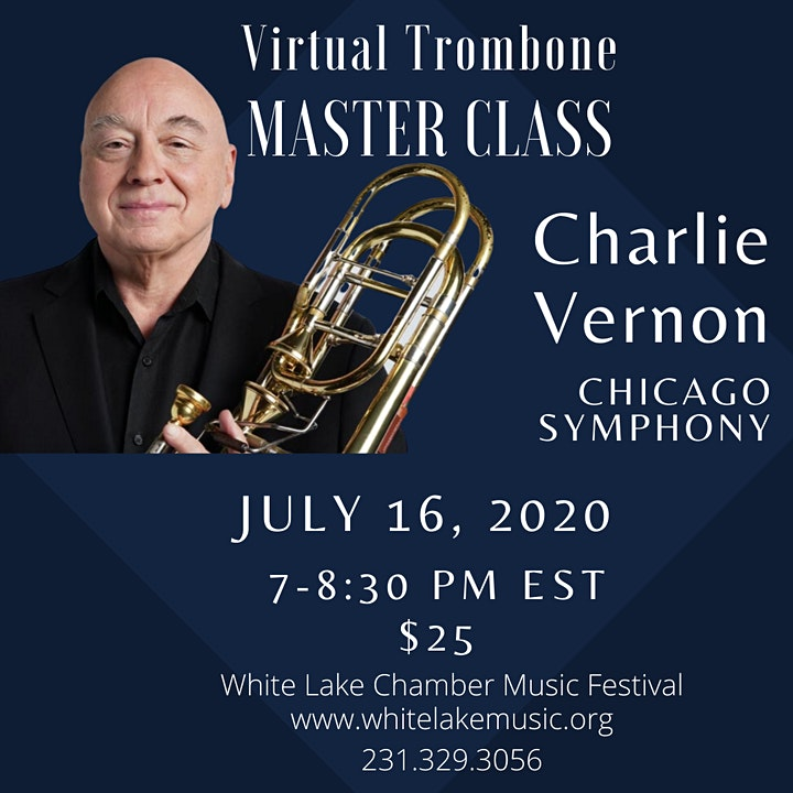 Song and Wind- Trombone Master Class with Chicago Symphony's Charlie Vernon image