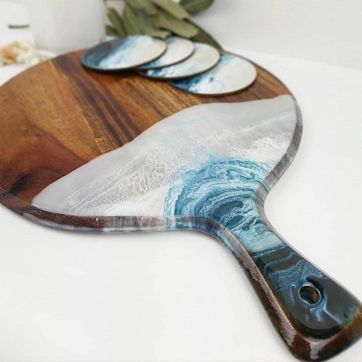 Resin Cheeseboard Workshop image