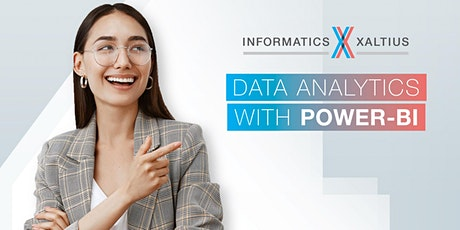 Data Analytics with PowerBI (Online option available) tickets