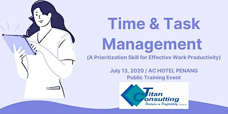 Time & Task Management for Effective Work Productivity (HRDF Claimable) tickets