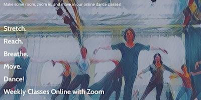 Online Jazz Dance Classes!