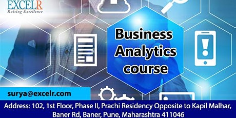 Business Analytics Certification tickets