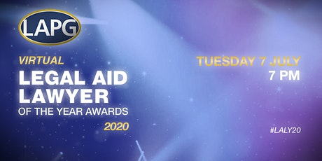The First Ever Virtual Legal Aid Lawyer of the Year Awards tickets