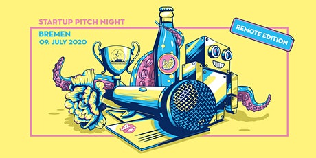 Startup Pitch Night Bremen - Remote Edition Tickets