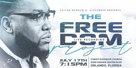 The Freedom Project Live Recording tickets