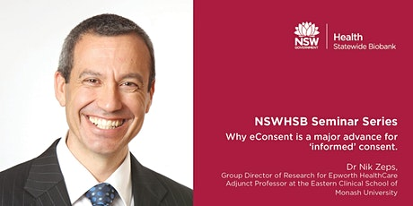 NSWHSB Seminar Series - Professor Nik Zeps tickets